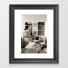 chester kitchen Framed Art Print