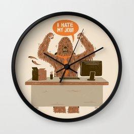 I Hate My Job Wall Clock