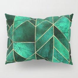 Abstract Nature - Emerald Green Pillow Sham