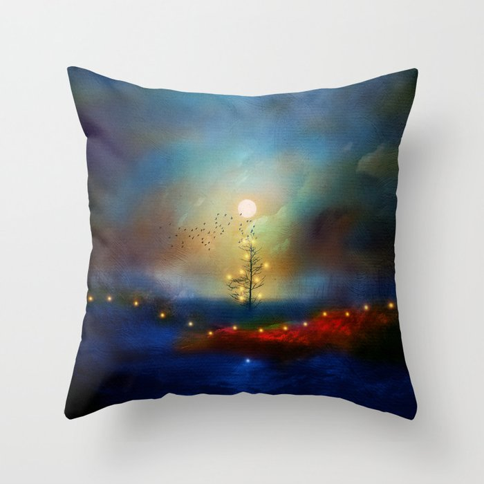 A Beautiful Christmas Throw Pillow By Vivianagonzlez Society6