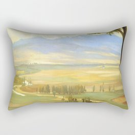 Diego Rivera Avila Morning Rectangular Pillow