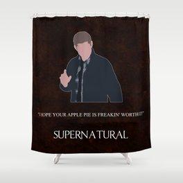 Supernatural - Dean Winchester Shower Curtain