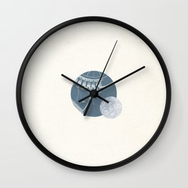 Pluto I Wall Clock