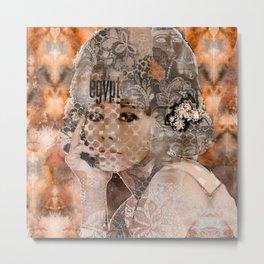 EgyptBrown Metal Print