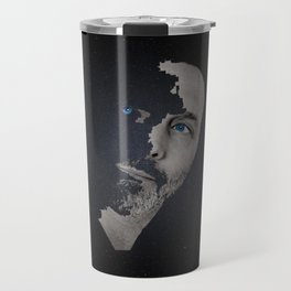 Man Afraid Travel Mug
