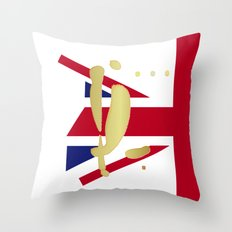 YL in London Throw Pillow