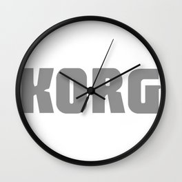 KORG new Wall Clock