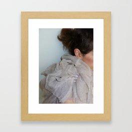 grey light Framed Art Print