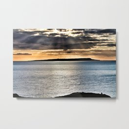 Light over Lulworth Metal Print