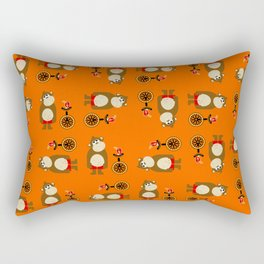 Mr. Monkey Rectangular Pillow