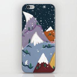 Yeti Mountain iPhone Skin