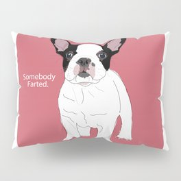Somebody farted - Frenchie Pillow Sham