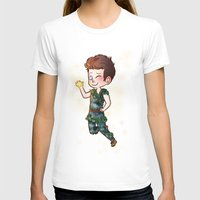 peter pan T-shirts featuring Peter Pan by Sunshunes