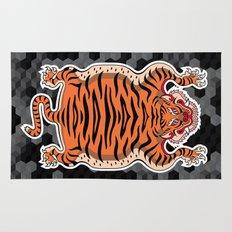 TIBETAN TIGER (black) Rug