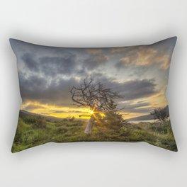 Old Friend - Many Glacier Rectangular Pillow