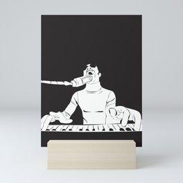 Feel the Music with Stevie Wonder Mini Art Print