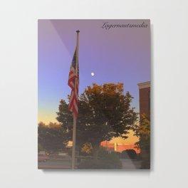 KINGSPORT, TN - USA FLAG Metal Print