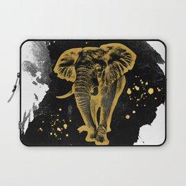 Golden Elephant Laptop Sleeve