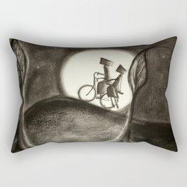 Heavy as moonlight  Rectangular Pillow