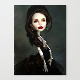Monster Angelina Doll Canvas Print