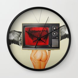 The truth is dead 13 · trump the media Wall Clock