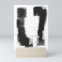 Black white theme #15 Mini Art Print