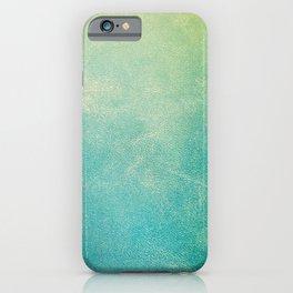 Jade Ombre iPhone Case