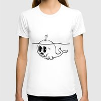 moby T-shirts featuring Moby Skull by Stephan Brusche