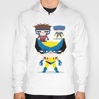 x men Hoodies featuring X Men fan art by danvinci