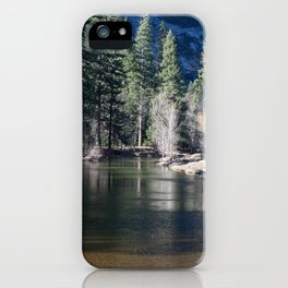 Evergreen and Deciduous Reflecting iPhone Case
