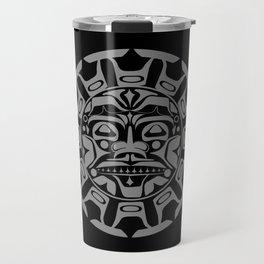 the sun symbol Travel Mug