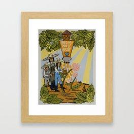 Oregon Public House Poster - 13 Framed Art Print