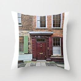 London England Architecture. Jack The Ripper Neighborhood. Throw Pillow