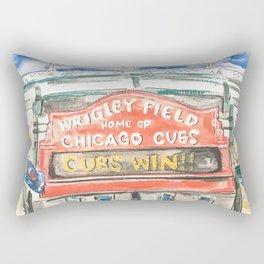 Wrigley Field Rectangular Pillow