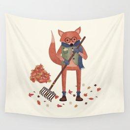Ferdinand the Fall Fox Wall Tapestry