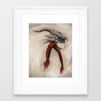 headdress Framed Art Prints featuring Headdress by Jesse Kerr