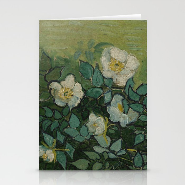 Wild Roses Stationery Cards