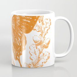 Country Acorn Butterfly  Coffee Mug
