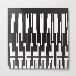 BASE:01 Metal Print