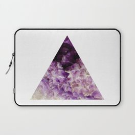 amethyst triangle Laptop Sleeve