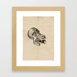 Exqusite corpse with hangover Framed Art Print