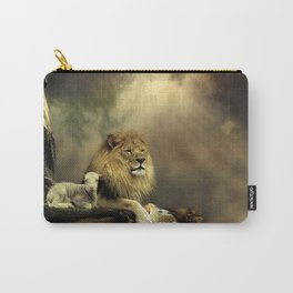 The Lion & the Lamb Carry-All Pouch