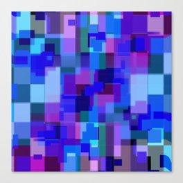 Blocking Serenity Canvas Print