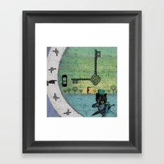 Time For Change Framed Art Print