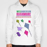 rushmore Hoodies featuring Rushmore Movie Poster by FunnyFaceArt