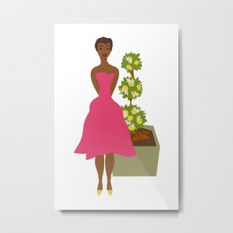 Cultivated & Zesty No 02 Metal Print