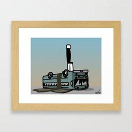 Bus Kill Framed Art Print