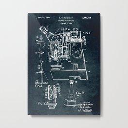 1955 - Toolmaker's microscope Metal Print