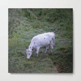 La Vache Metal Print