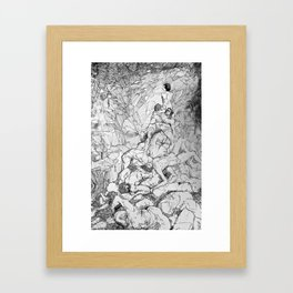 Still Life After the Apocalypse Framed Art Print
